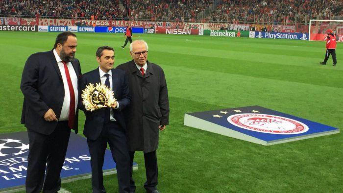 Olympiakos uhonorował Valverde