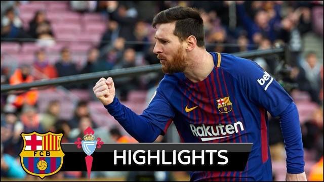 Barcelona 2-2 Celta (Skrót meczu)