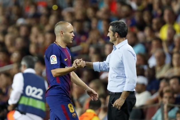 Iniesta tylko raz zagrał cały mecz