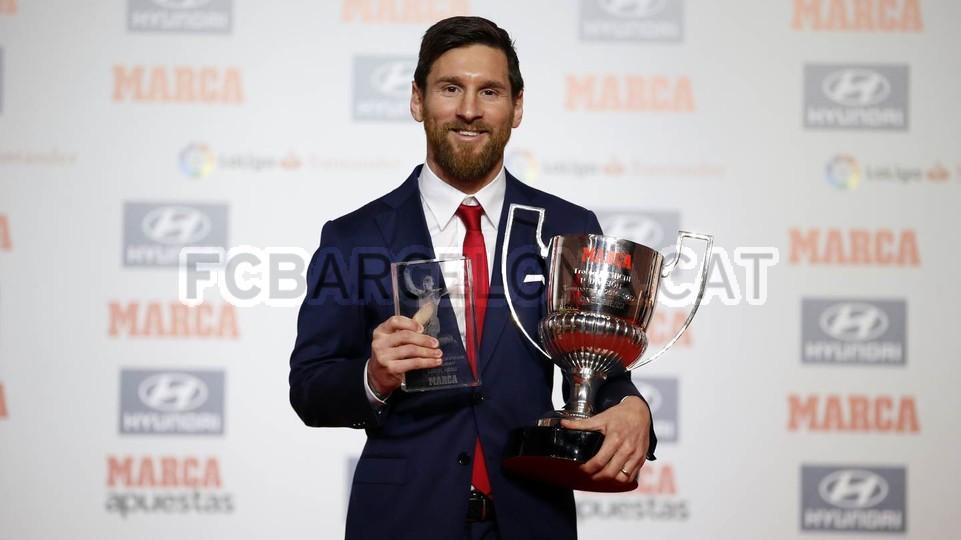 Messi odebrał kolejne nagrody