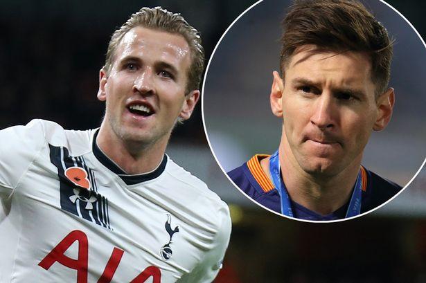 Nie Messi, a Kane najlepszym strzelcem roku