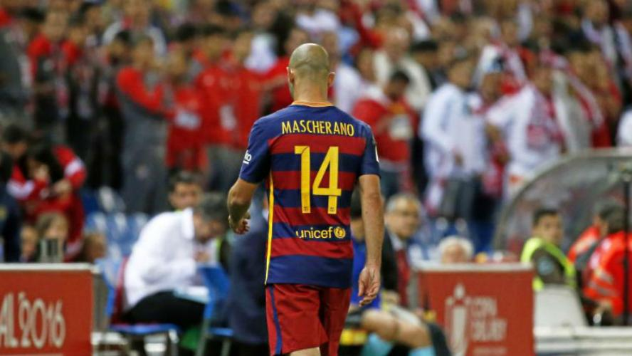 Ostatni mecz Masche na Camp Nou?