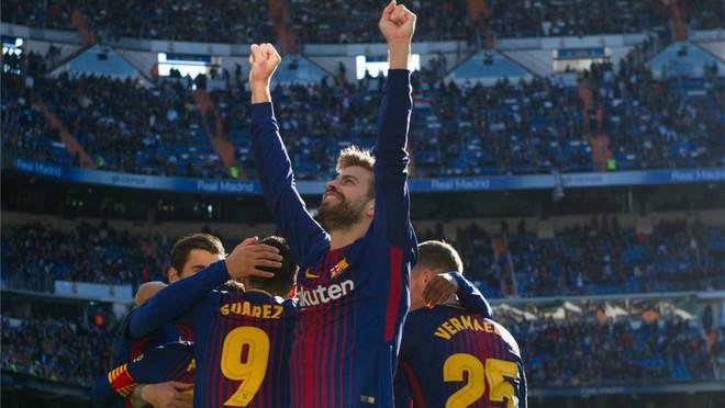 La Liga: 3 wygrane z rzędu Barcy na Bernabeu