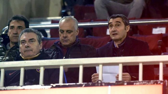 Valverde obserwował graczy rezerw