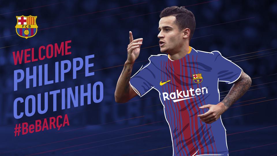 Oficjalnie: Coutinho w Barcelonie!