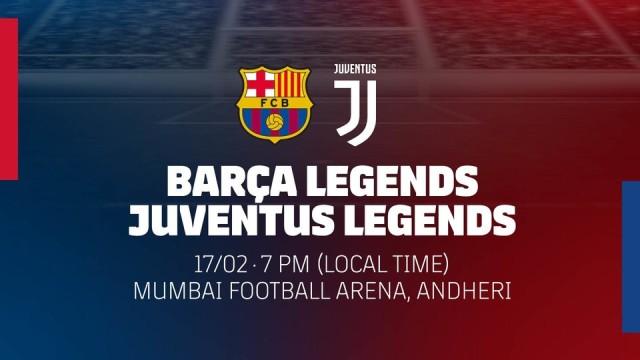 Legendy Barcy zagrają z Juve