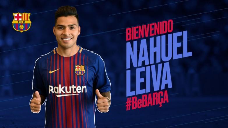 Oficjalnie: Nahuel w Barcelonie B