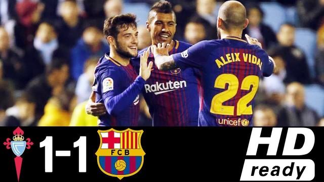 SKRÓT: Celta – FC Barcelona