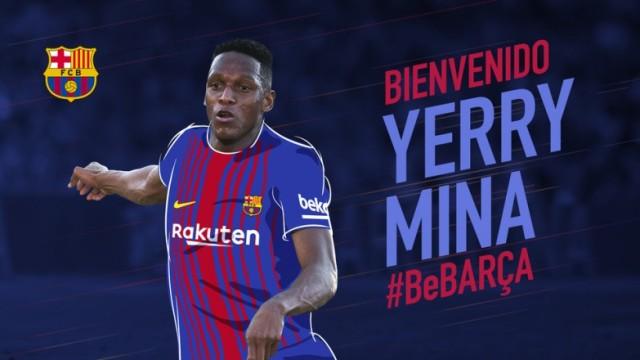 Oficjalnie: Yerry Mina piłkarzem Barcelony