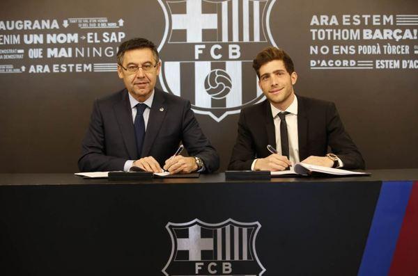 Sergi podpisał nową umowę
