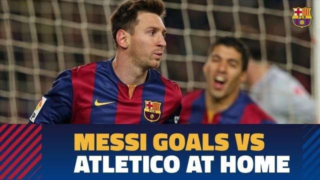 15 goli Messiego z Atletico na Camp Nou