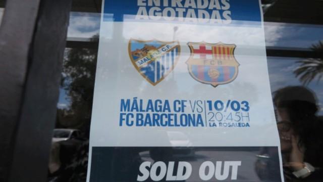 Malaga sprzedała już wszystkie wejściówki