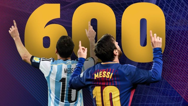 600 bramek Messiego!