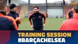 Messi otrzymał gratulacje na treningu