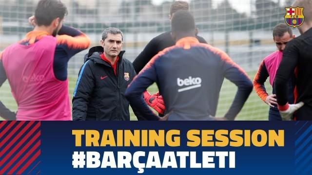 Powrót do treningów, cel: Atletico