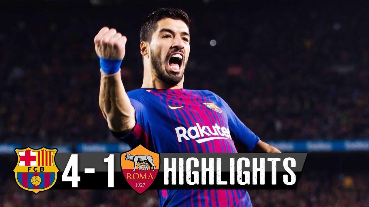 SKRÓT: FC Barcelona – Roma