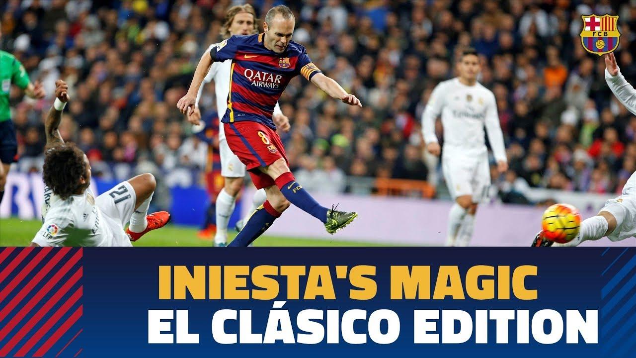 Ostatnie El Clasico dla Iniesty