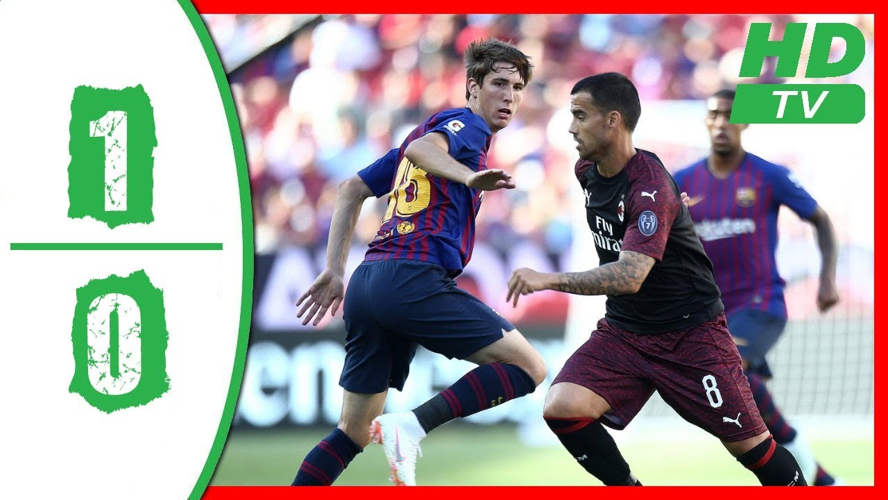 SKRÓT: Milan – FC Barcelona