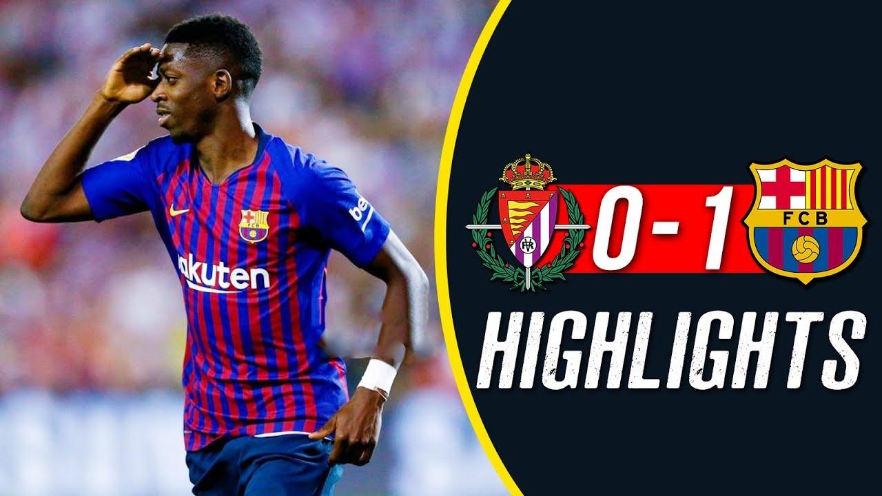 Skrót: Valladolid – FC Barcelona