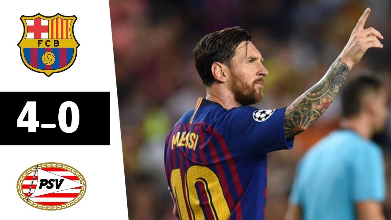 SKRÓT: FC Barcelona – PSV