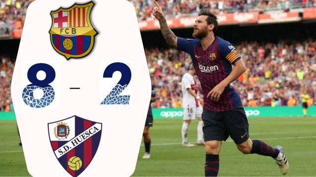 SKRÓT: FC Barcelona – SD Huesca
