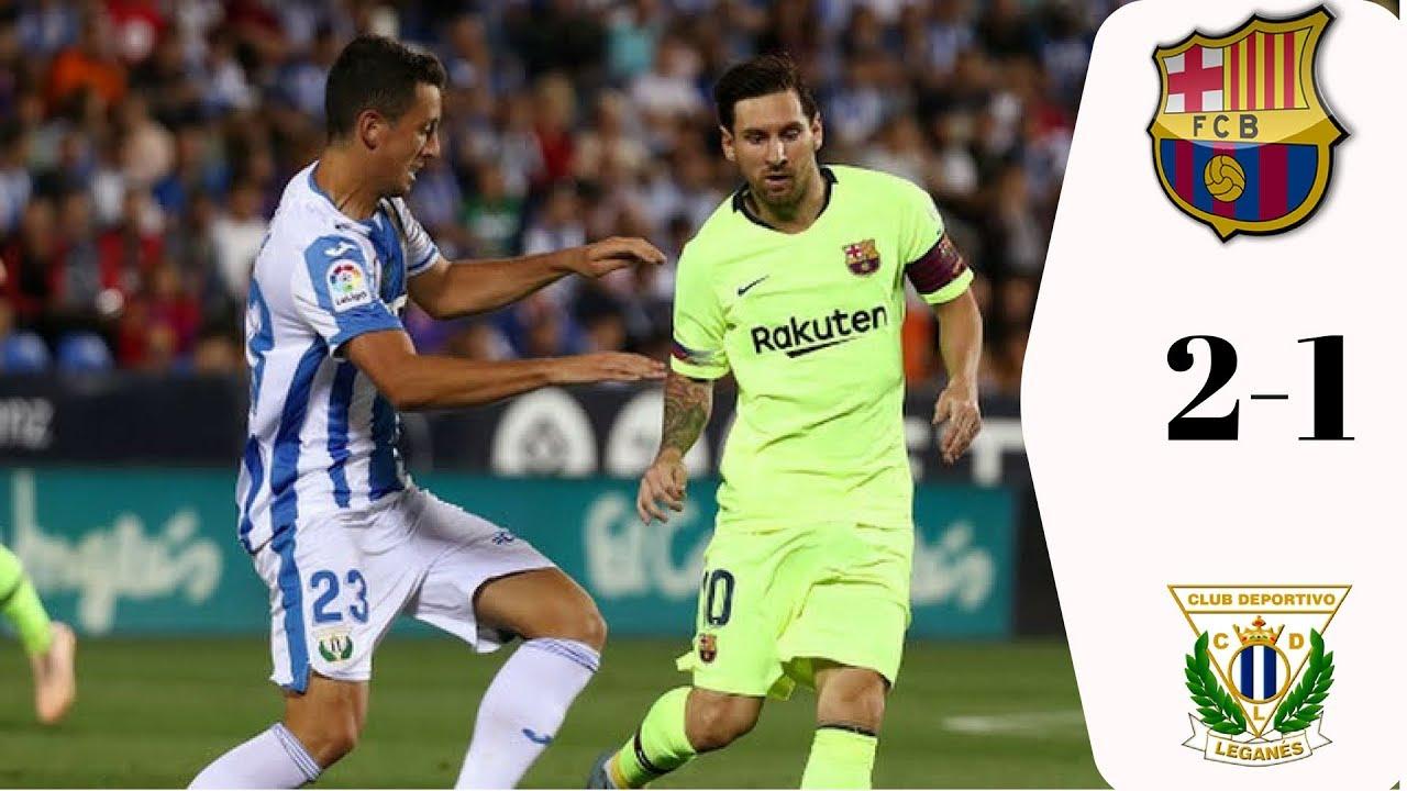 SKRÓT: Leganes – FC Barcelona