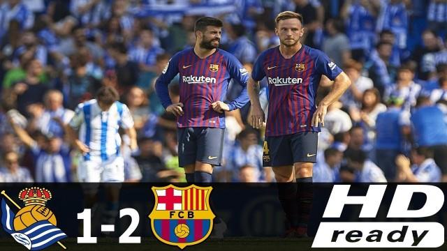 SKRÓT: Sociedad – FC Barcelona
