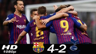 SKRÓT: Tottenham – FC Barcelona
